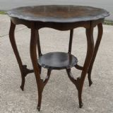 Edwardian Mahogany Round Centre Occasional Table
